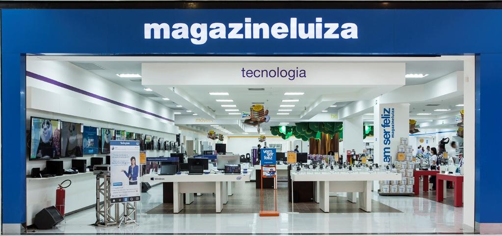 Fachada de loja da varejista Magazine Luiza
