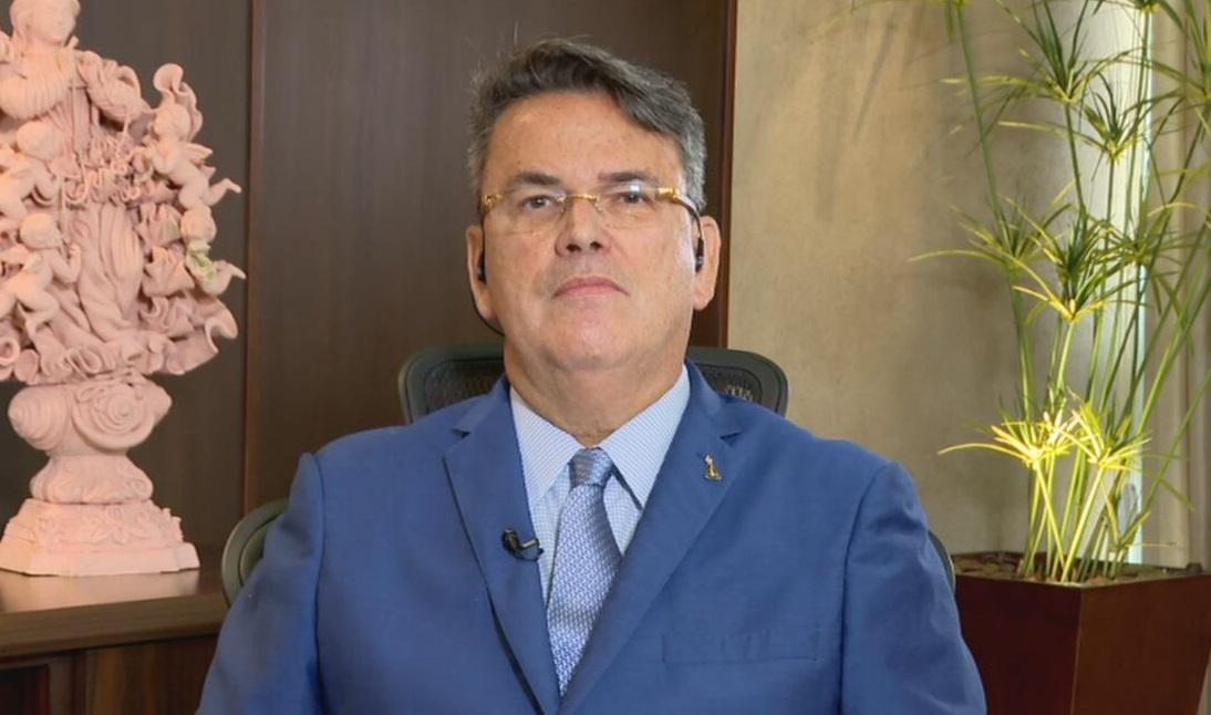 O presidente Tribunal de Justiça do Rio de Janeiro, Claudio de Mello Tavares