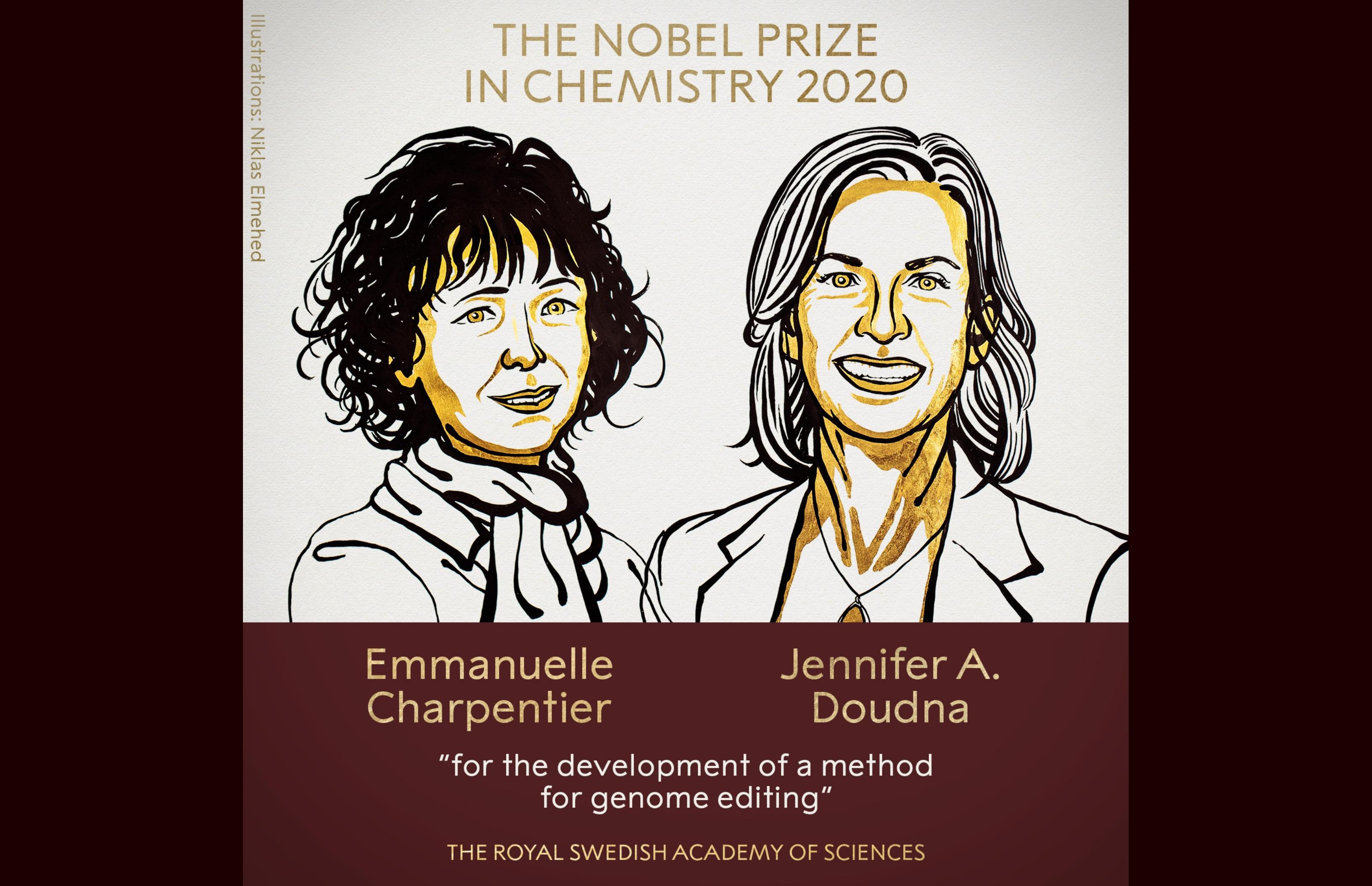 Dupla ganhadora do Nobel de Química 2020