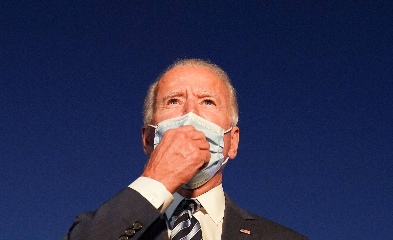 O candidato democrato à presidência dos EUA, Joe Biden