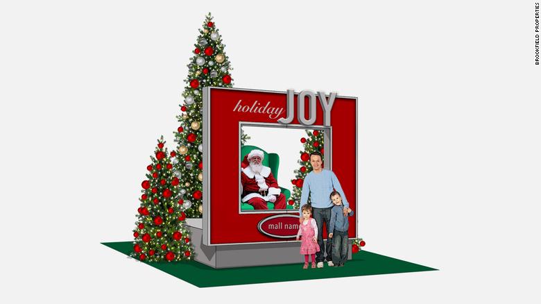 Shopping; Papai Noel