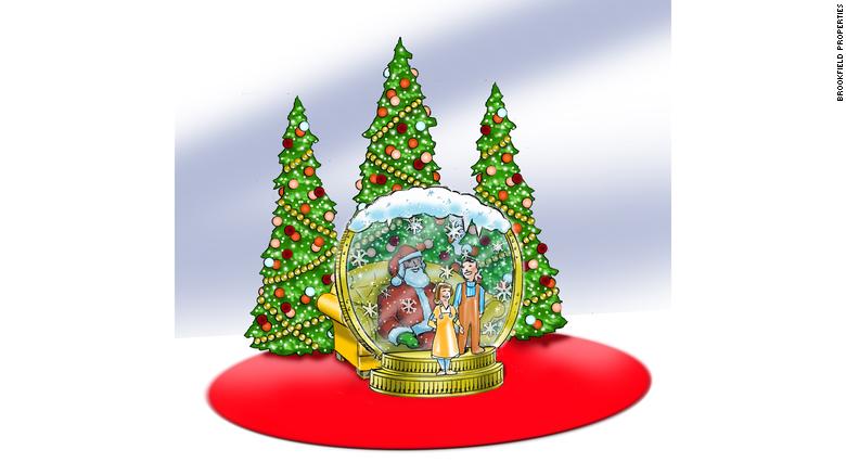 Papei Noel; Estados Unidos; Shopping