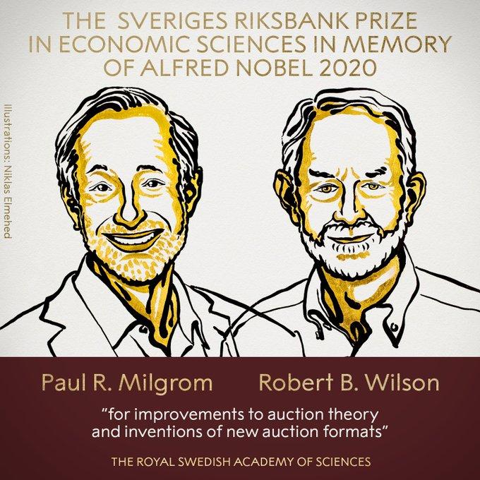 Paul Milgron e Robert Wilson são os ganhadores do Nobel deste ano