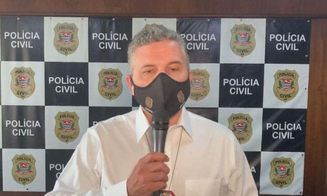 O delegado Fábio Pinheiro Lopes fala à CNN