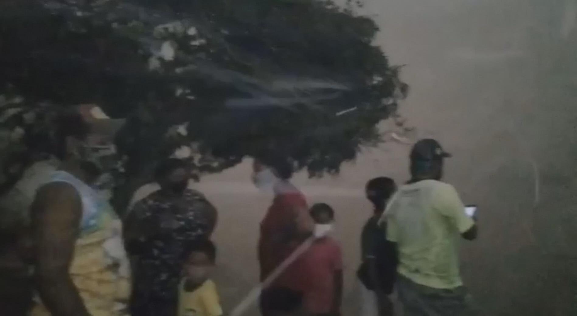 Moradores registraram nuvem de cinzas e fuligem após incêndios no Pantanal