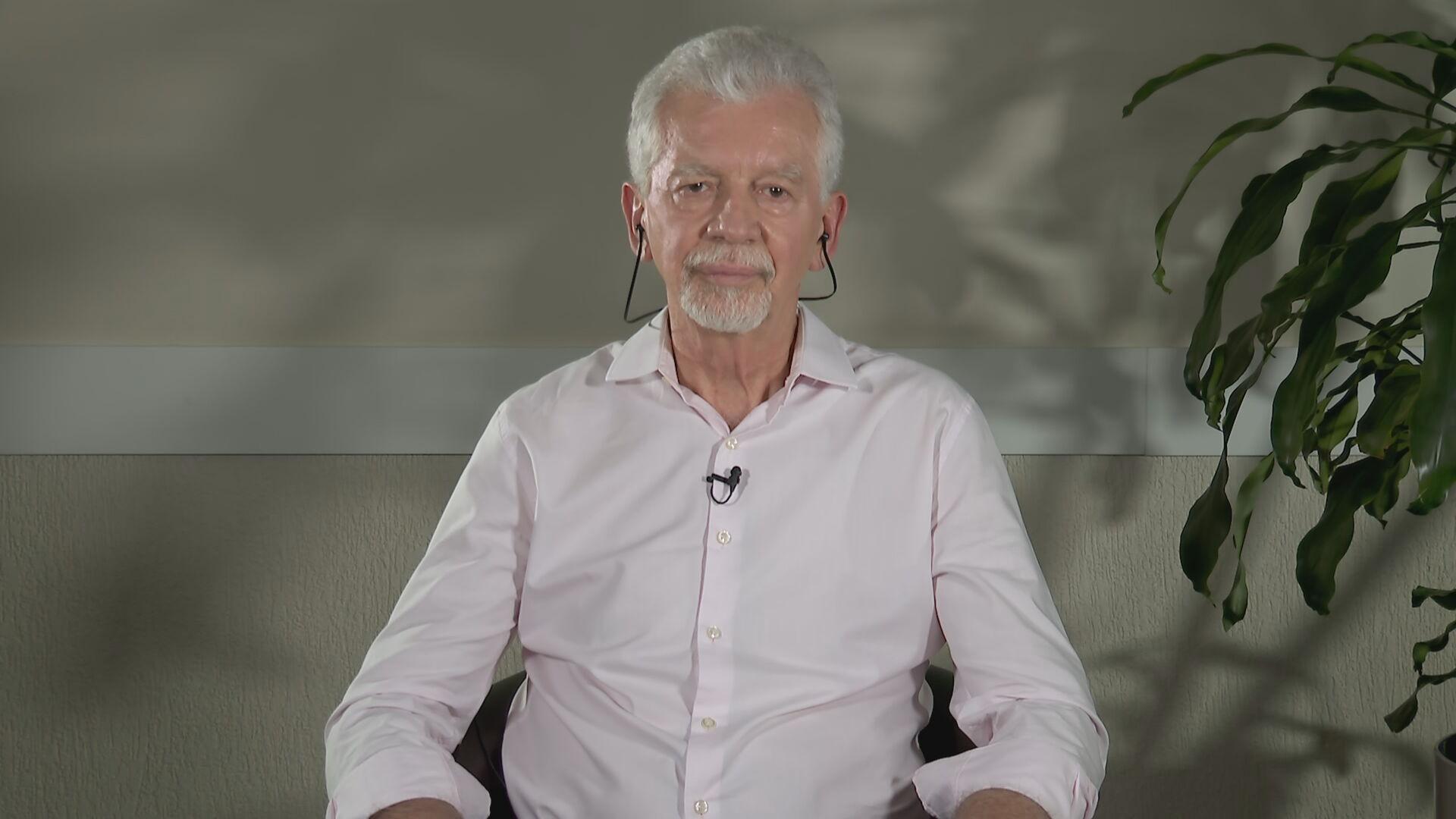 José Fortunati, candidato a prefeito de Porto Alegre em entrevista para a CNN (1