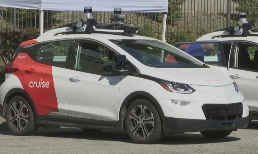 Modelo do carro autônomo que poderá circular nas ruas da Califórnia, nos EUA
