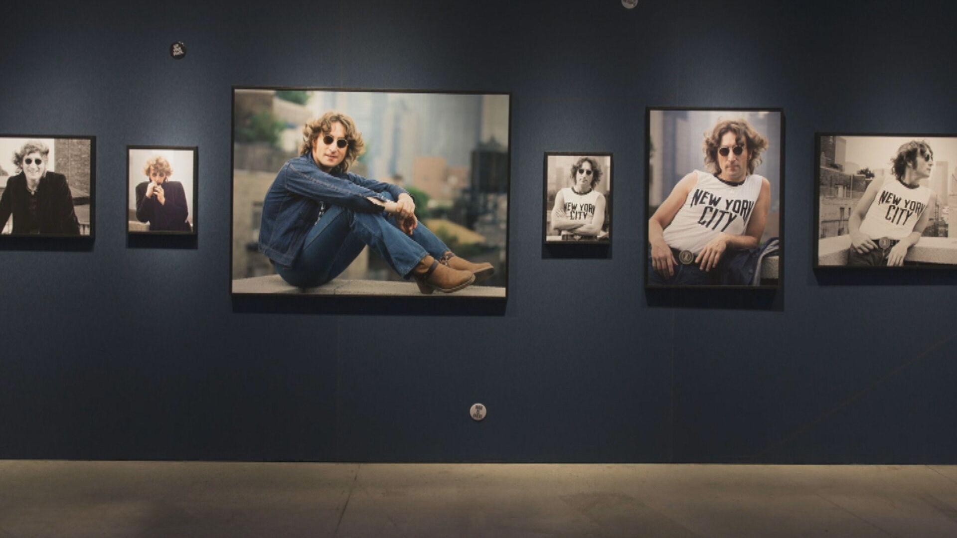 Exposição sobre John Lennon no MIS