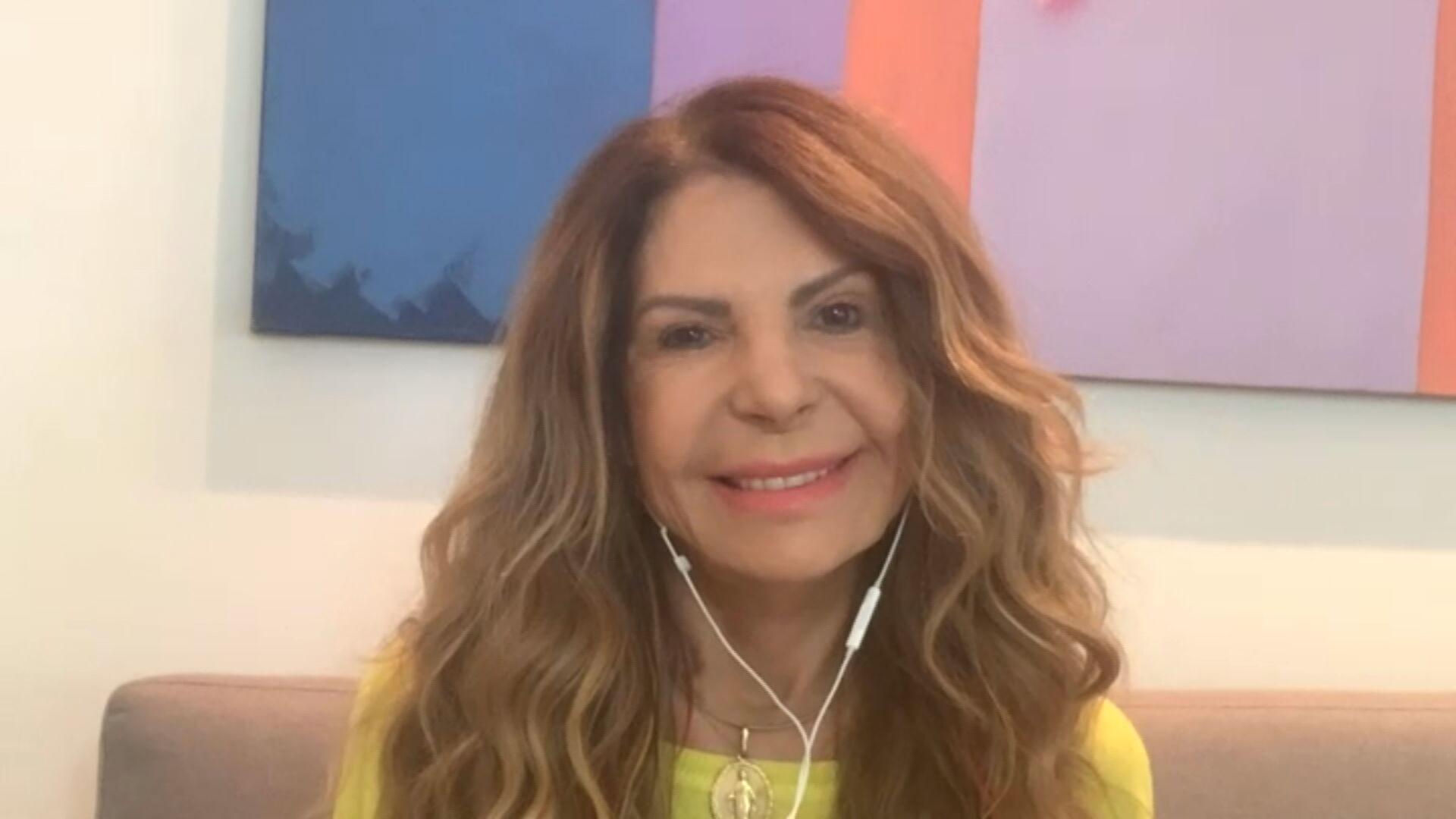 Elba Ramalho fala à CNN