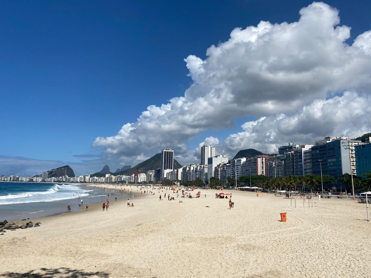 Rio de Janeiro tem sábado de temperatura amena