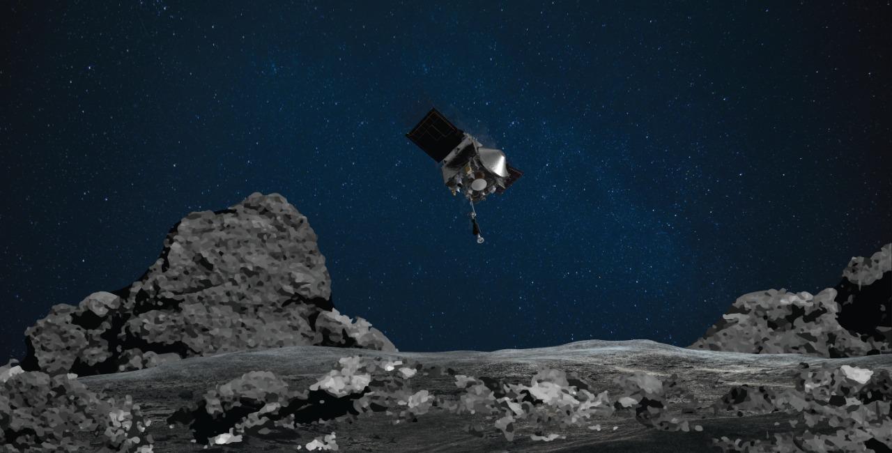 A nave espacial OSIRIS-REx da NASA