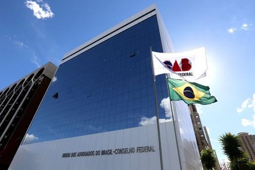 Prédio do Conselho Federal da OAB, em Brasília