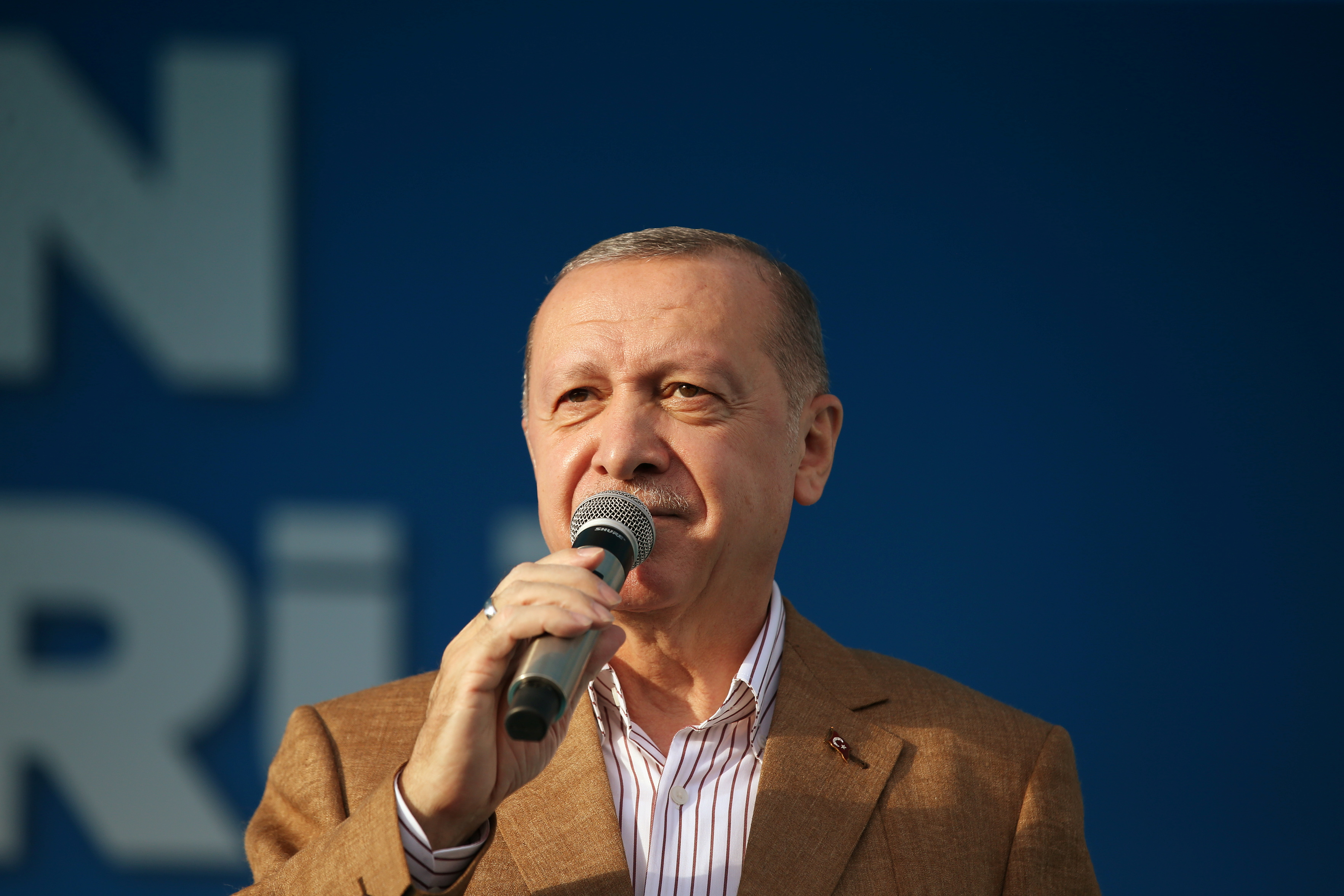 Presidente da Turquia, Tayyip Erdogan