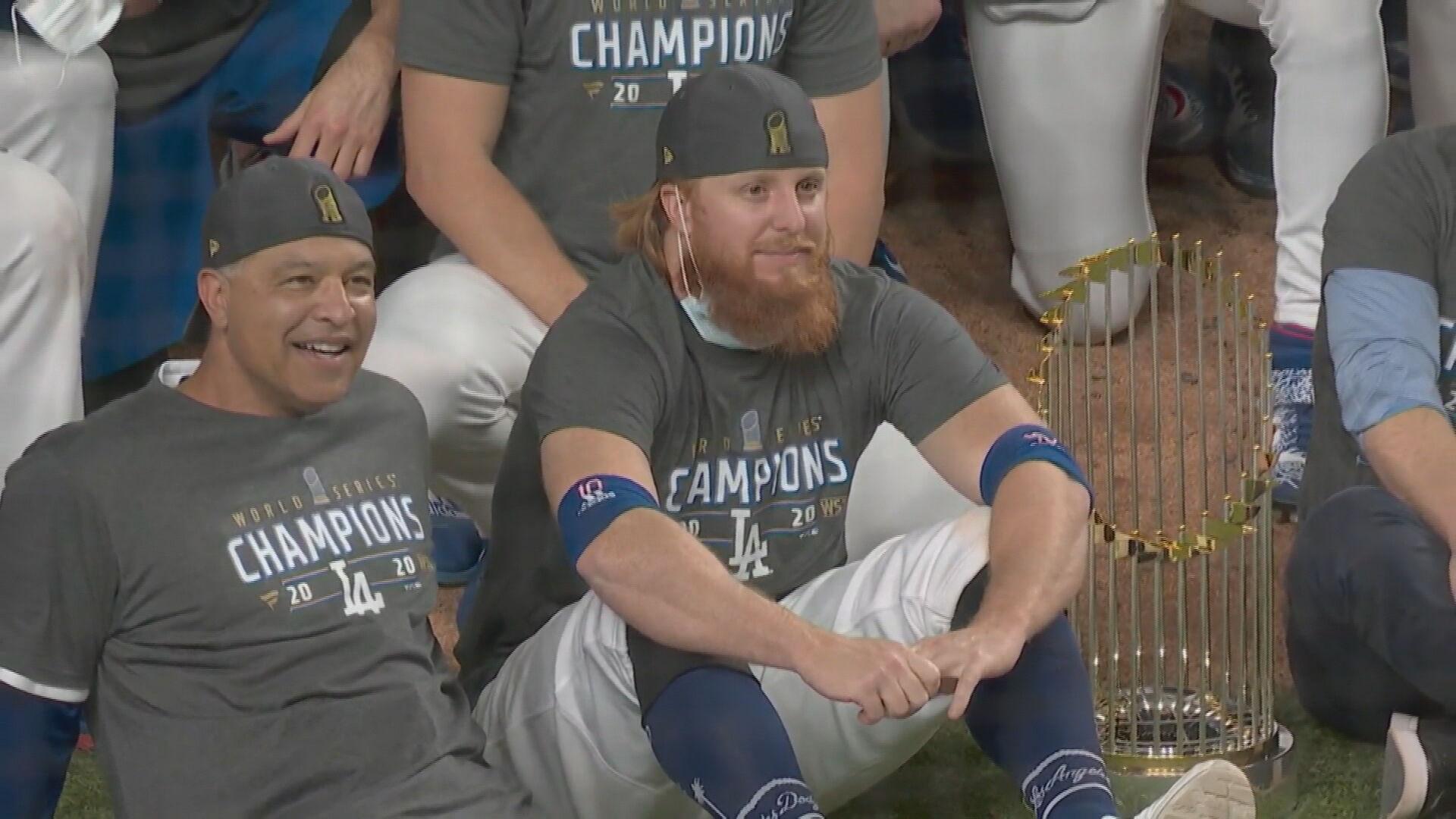 O rebatedorJustin Turner, do Dodgers