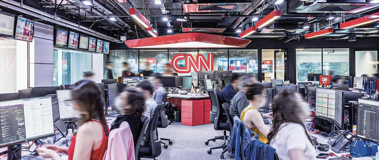 Redação da CNN, na Avenida Paulista, em São Paulo