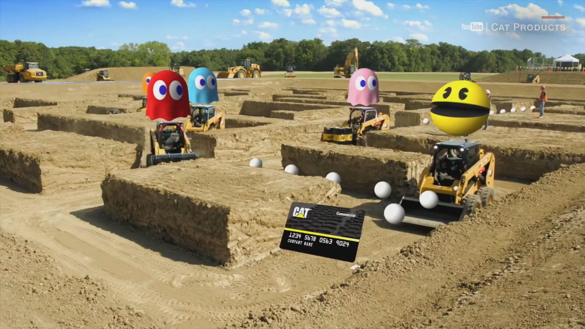 Empresa cria labirinto gigante inspirado no game 'Pac-Man'