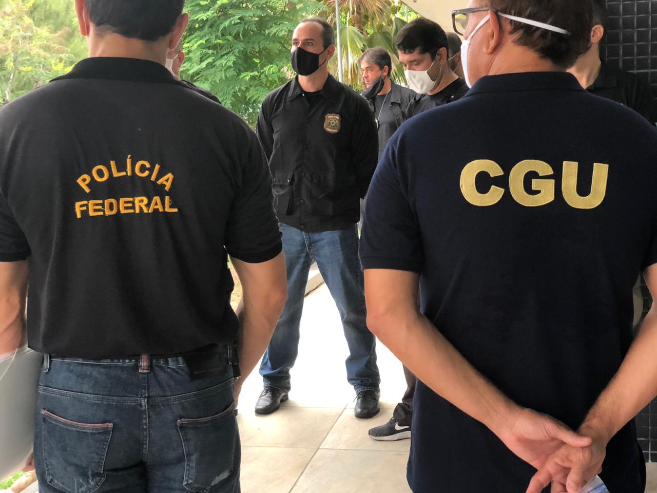 A ação de hoje da PF conta com a colaboração da Controladoria-Geral da União