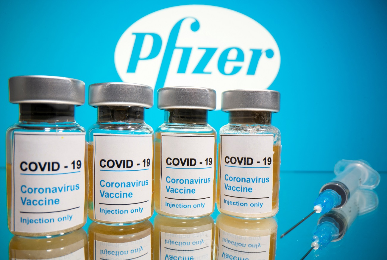 Vacina contra a Covid-19 desenvolvida pela Pfizer e BioNTech