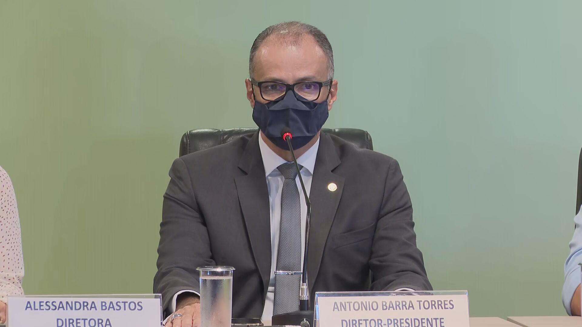 Antonio Barra Torres, diretor-presidente da Anvisa.