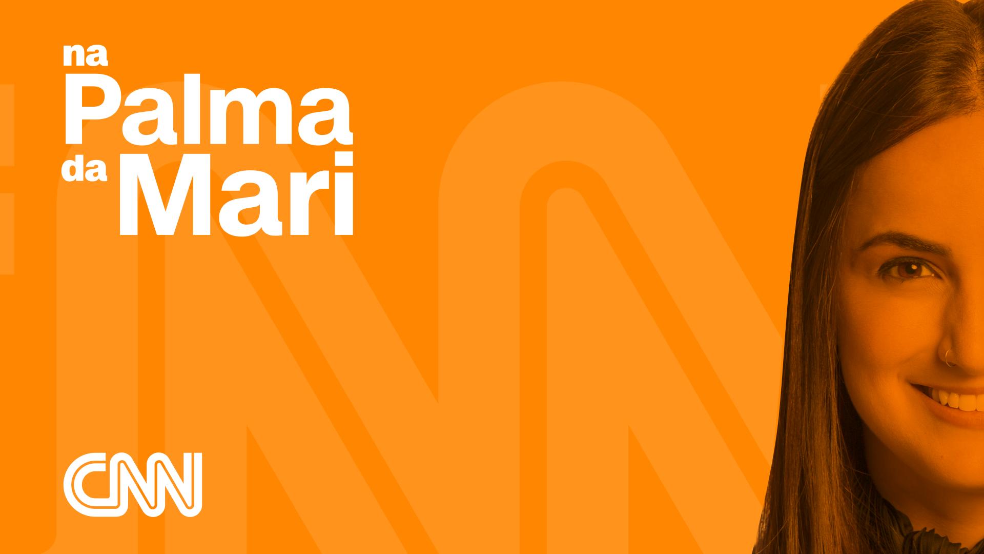Mari Palma apresenta o podcast Na Palma Da Mari, publicado sempre às quintas