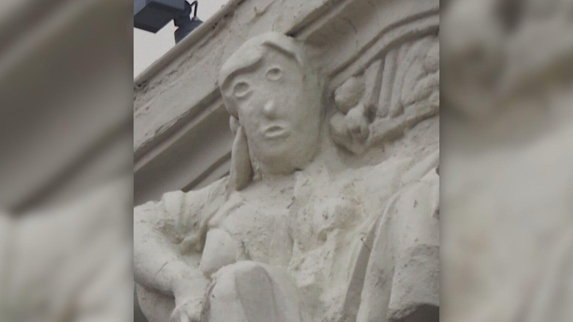 Tentativa de restaurar estátua na Espanha não saiu como o esperado