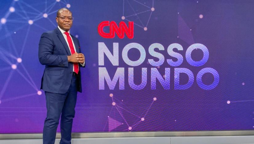 Silvio Almeida no estúdio do CNN Nosso Mundo