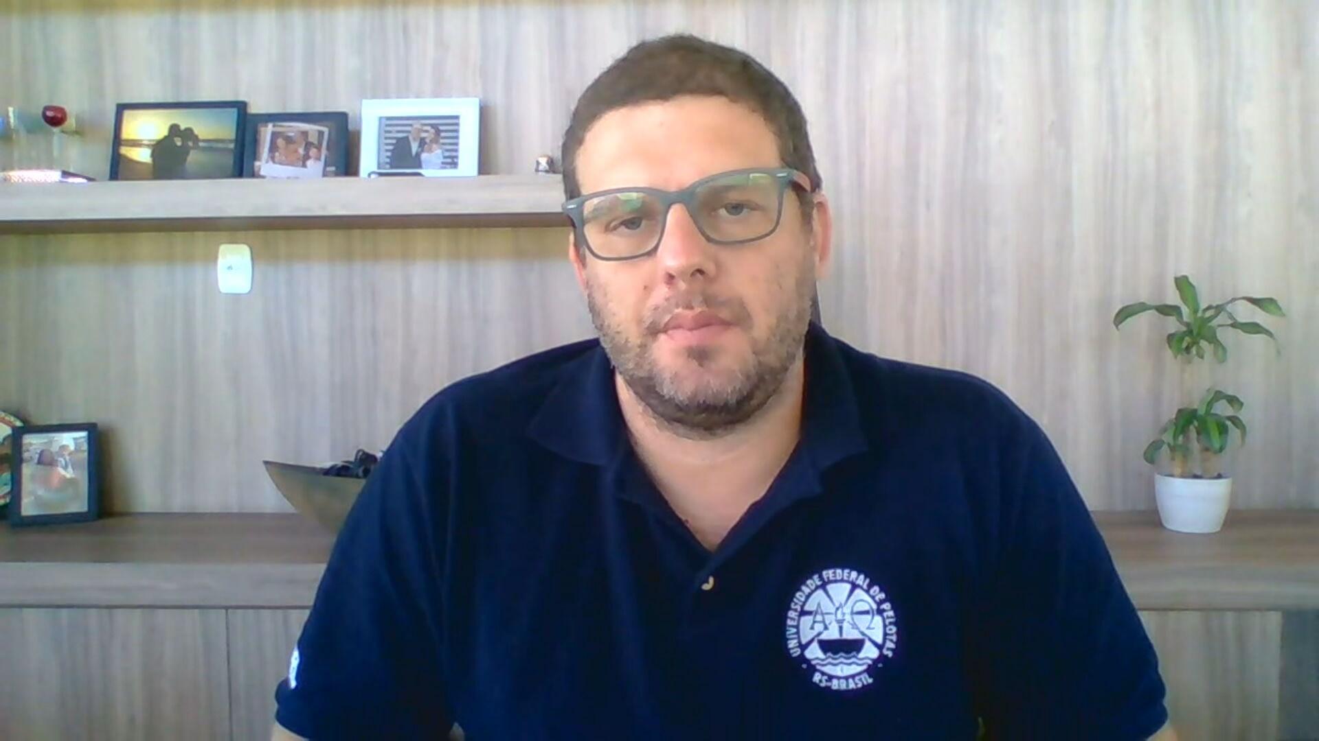 O epidemiologista e reitor da UFPel, Pedro Hallal (21.nov.2020)
