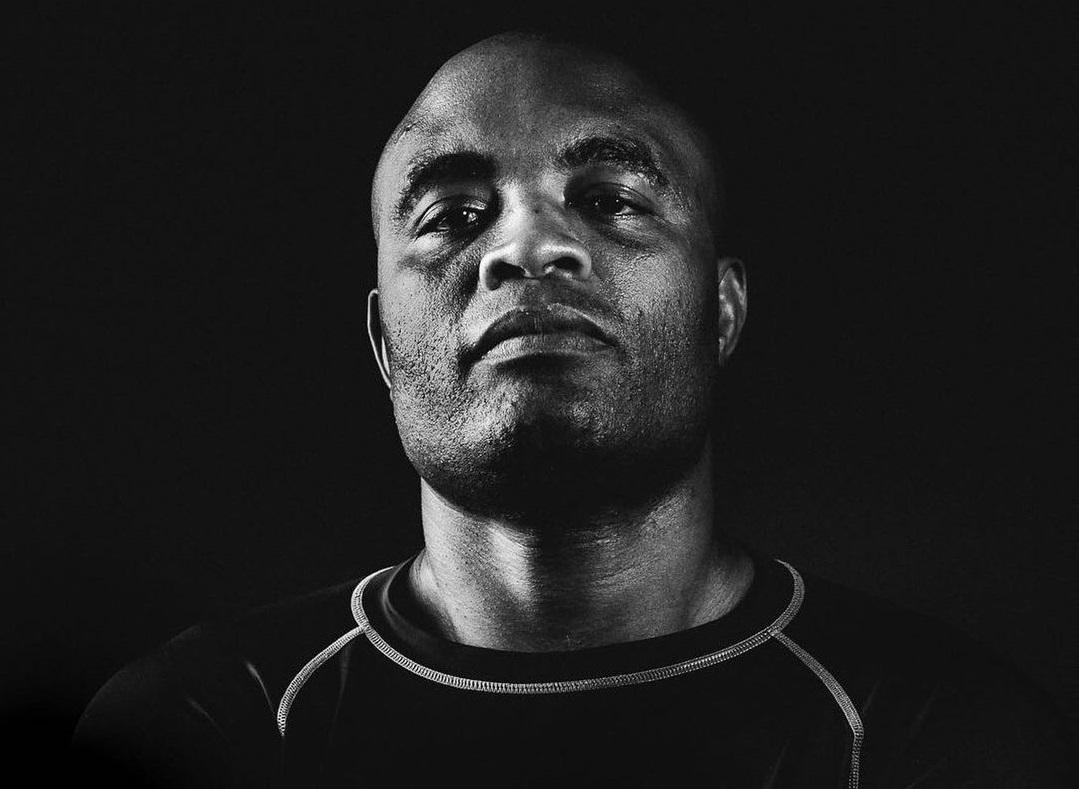 O lutador brasileiro Anderson Silva