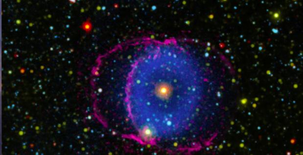 Nebulosa de Anel Azul