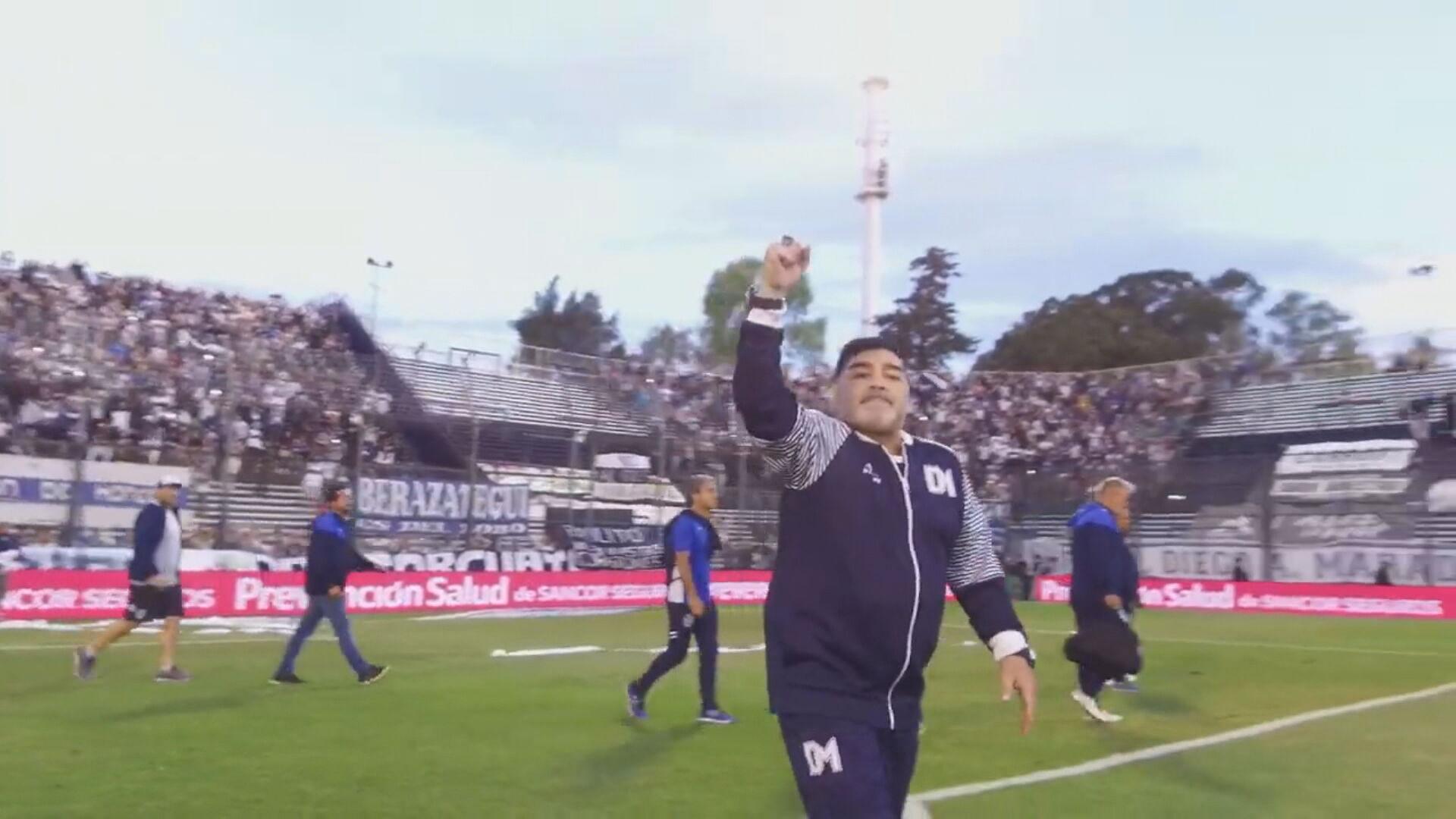 O ex-jogador Diego Maradona (25.nov.2020)