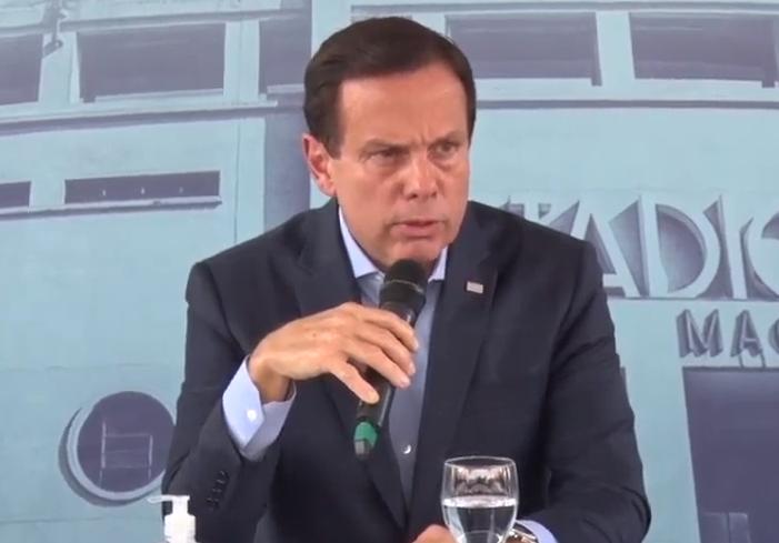 O governador de São Paulo, João Doria (PSDB)