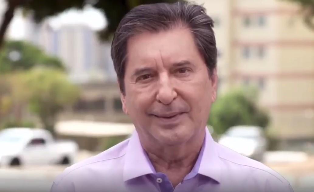 Maguito Vilela (MDB), candidato à prefeitura de Goiânia
