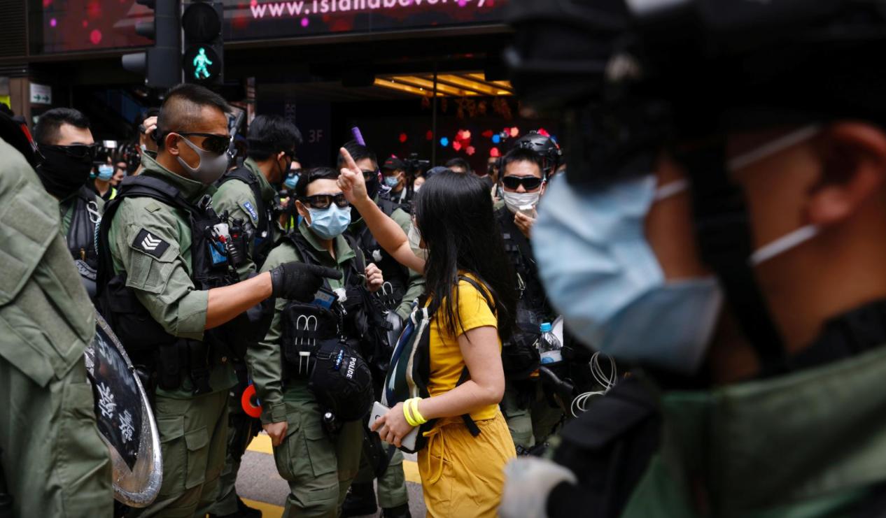 Protestos em Hong Kong em 2019