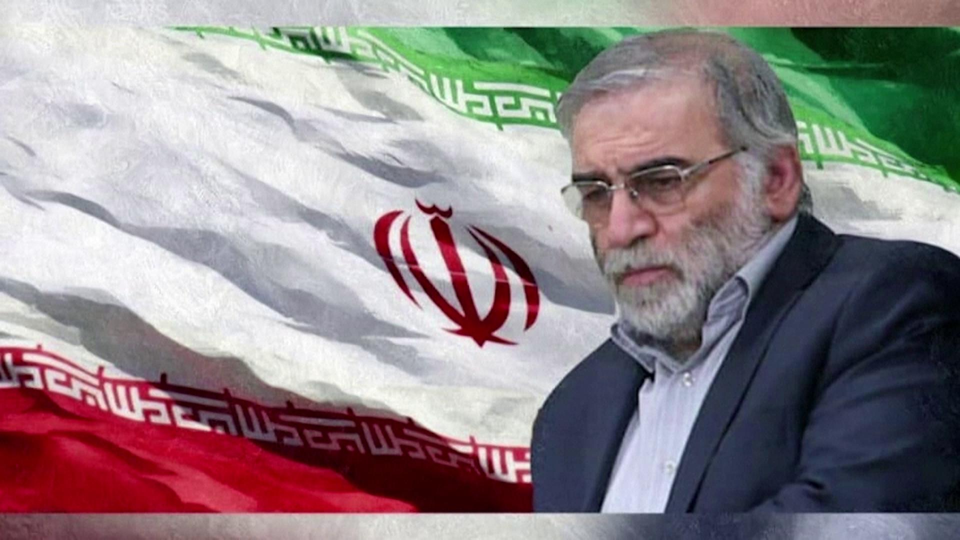 Imagem do cientista nuclear iraniano Mohsen Fakhrizadeh-Mahavadi