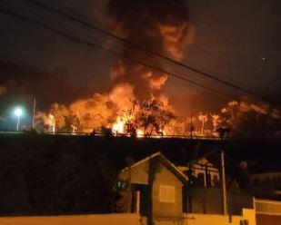 Criciúma teve madrugada violenta, com assalto seguido de tiroteios