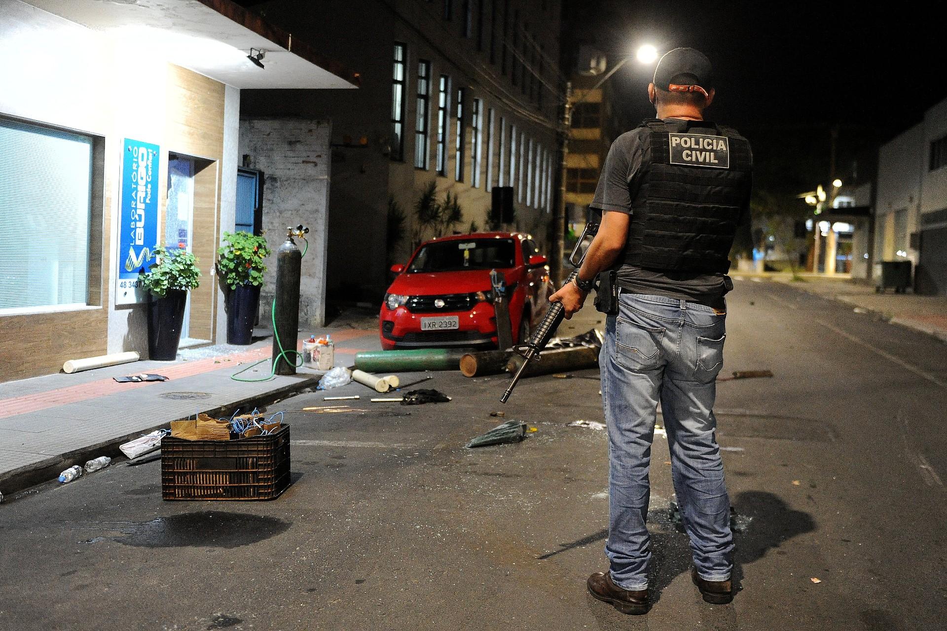Noite de terror em Criciúma