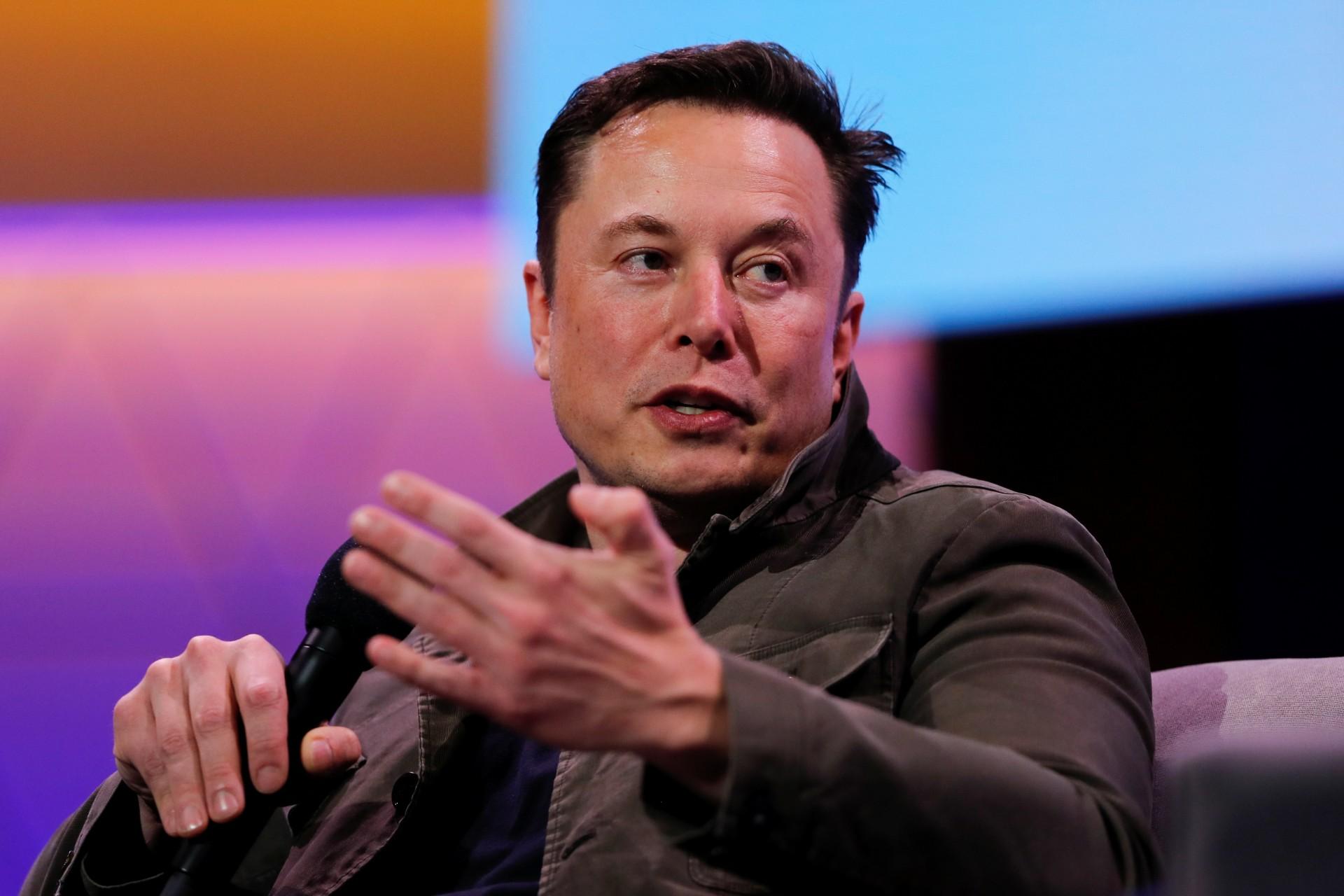 O CEO da Tesla e da SpaceX, Elon Musk