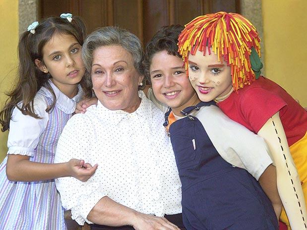 Nicette Bruno como Dona Benta em Sítio do Picapau Amarelo