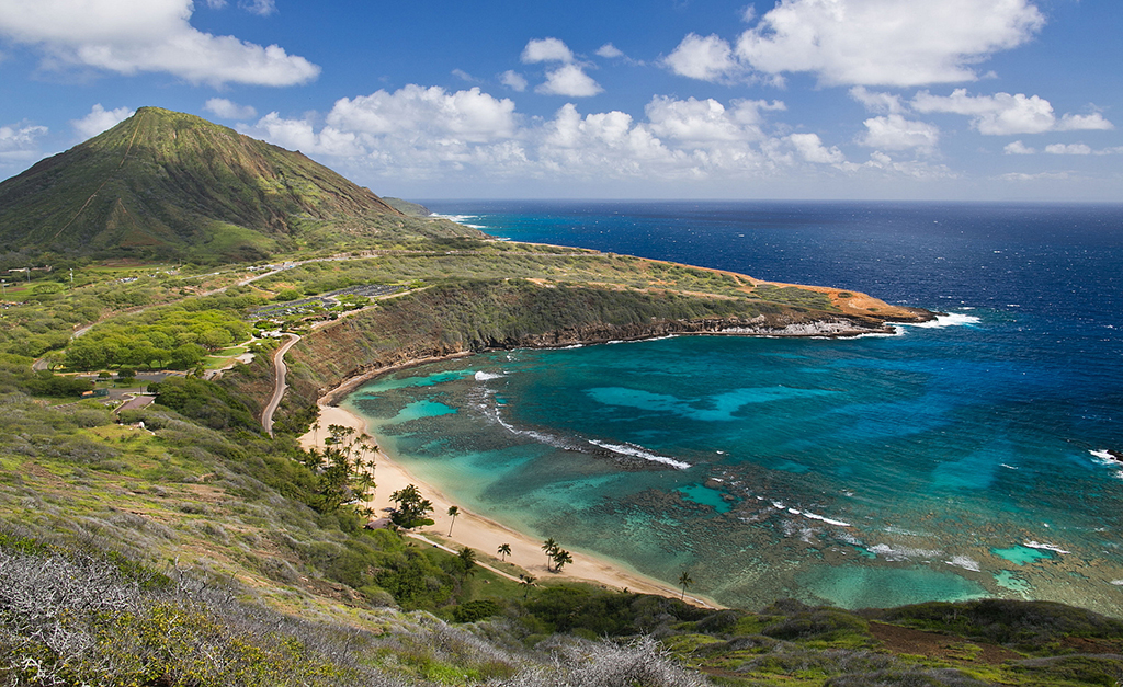 Praia de Hanauma Bay, Havaí
