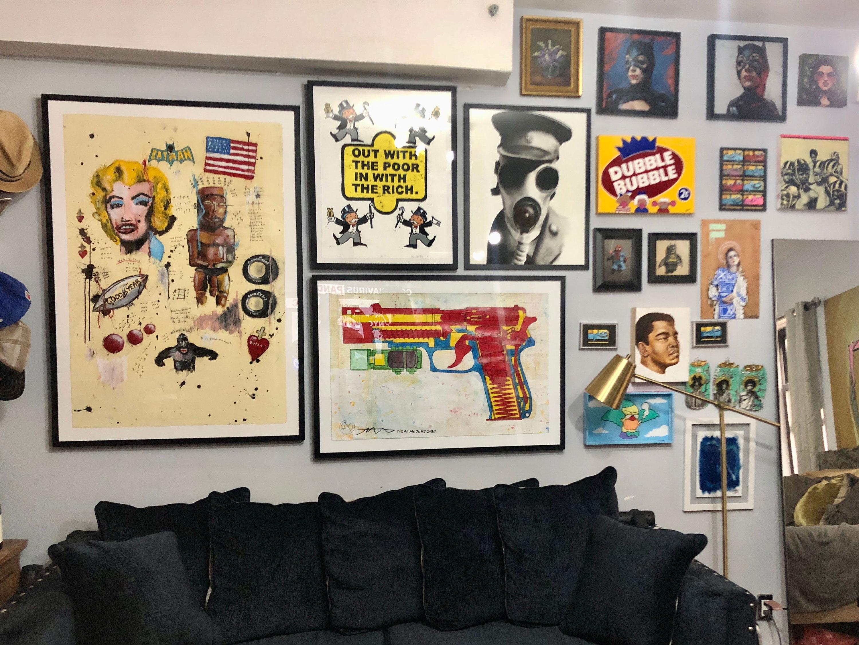 Guy Stanley Philoche comprou obras de arte para apoiar colegas de profissão.