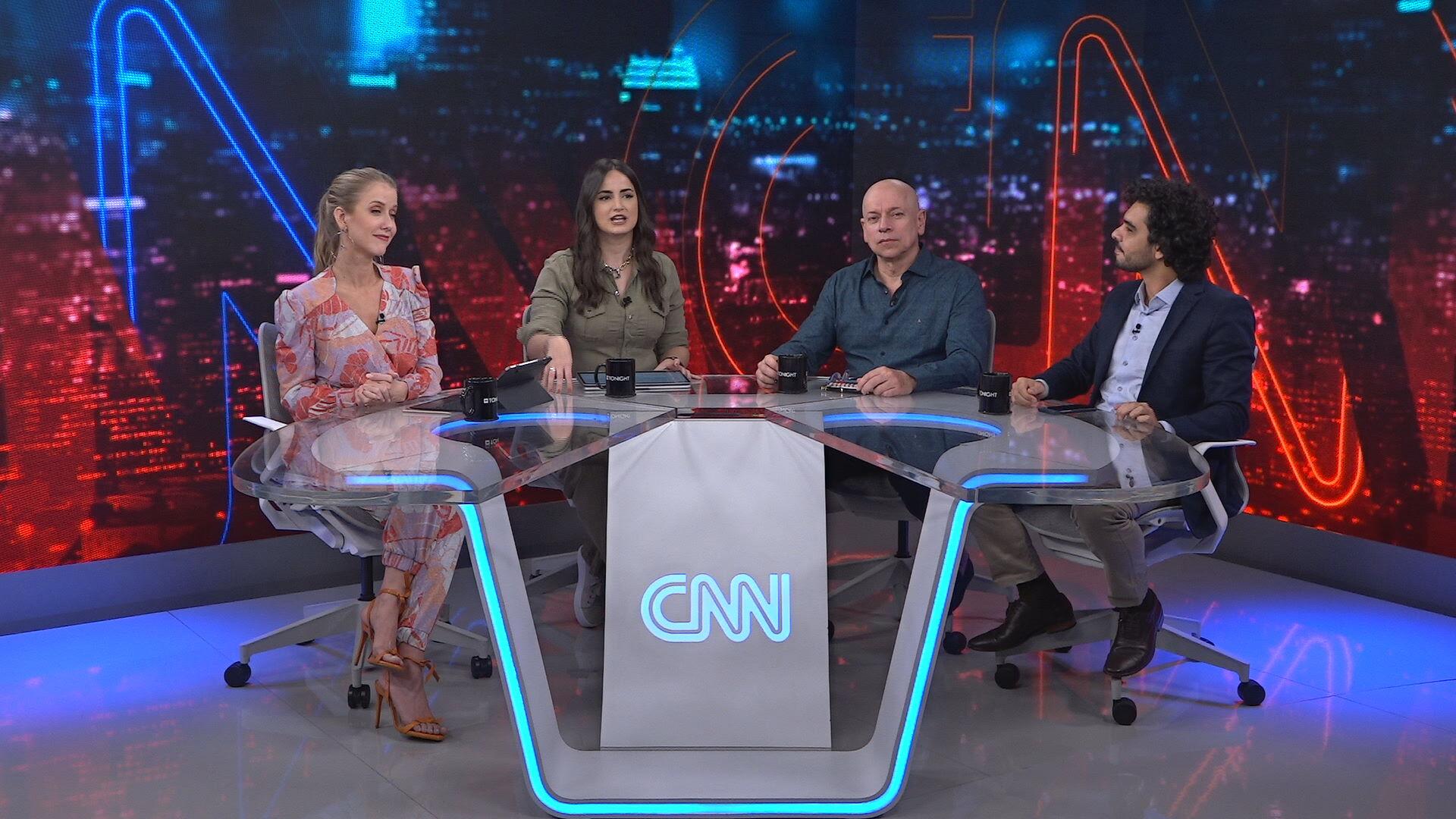 CNN Tonight, talk show apresentado por Mari Palma, Gabriela Prioli e Leandro Kar