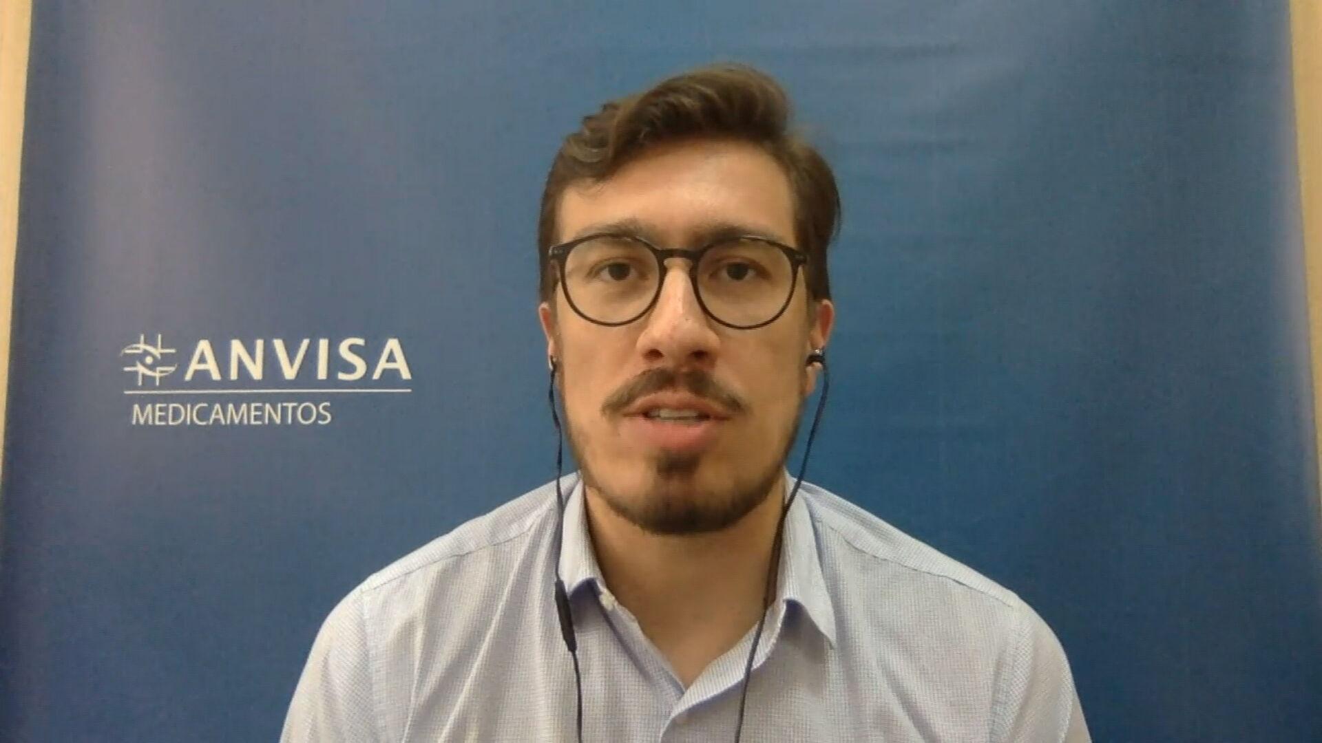 Gustavo Mendes,  gerente-geral da Anvisa
