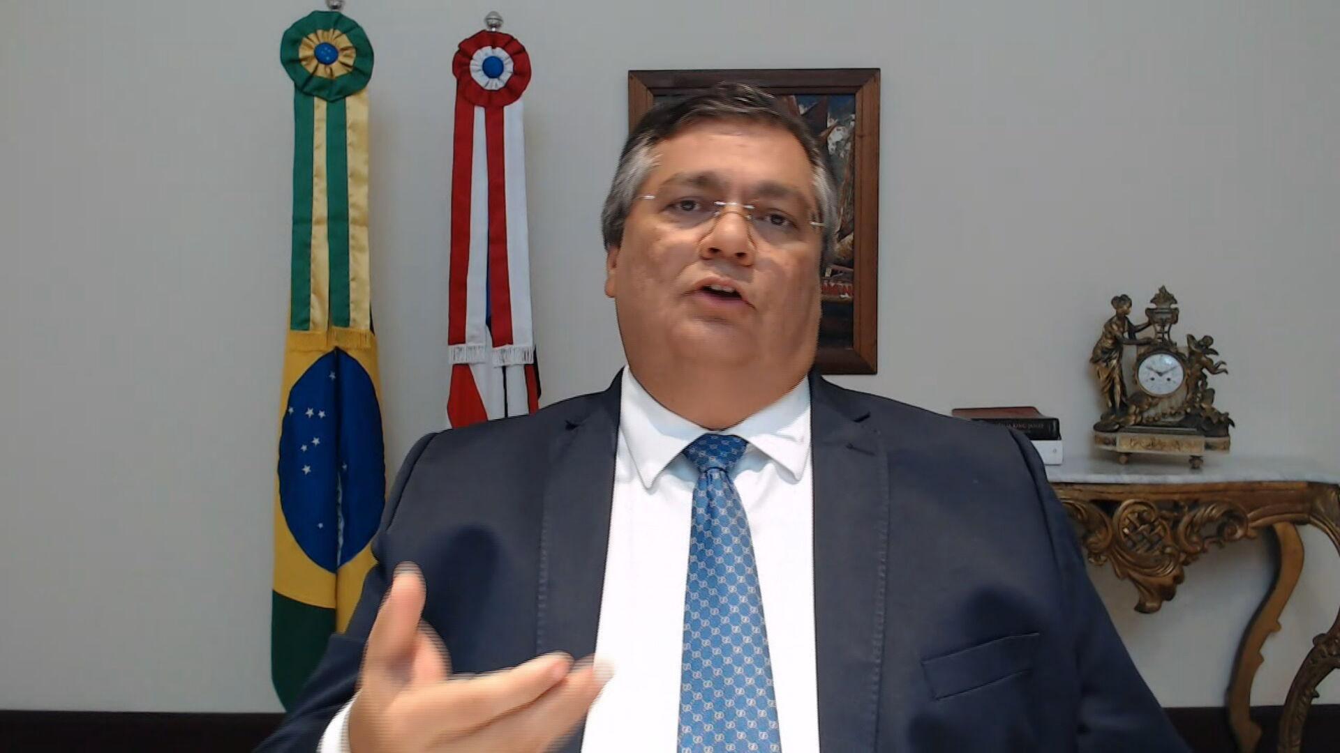 Flávio Dino (PCdoB), governador do Maranhão, em entrevista para a CNN (08.dec.20