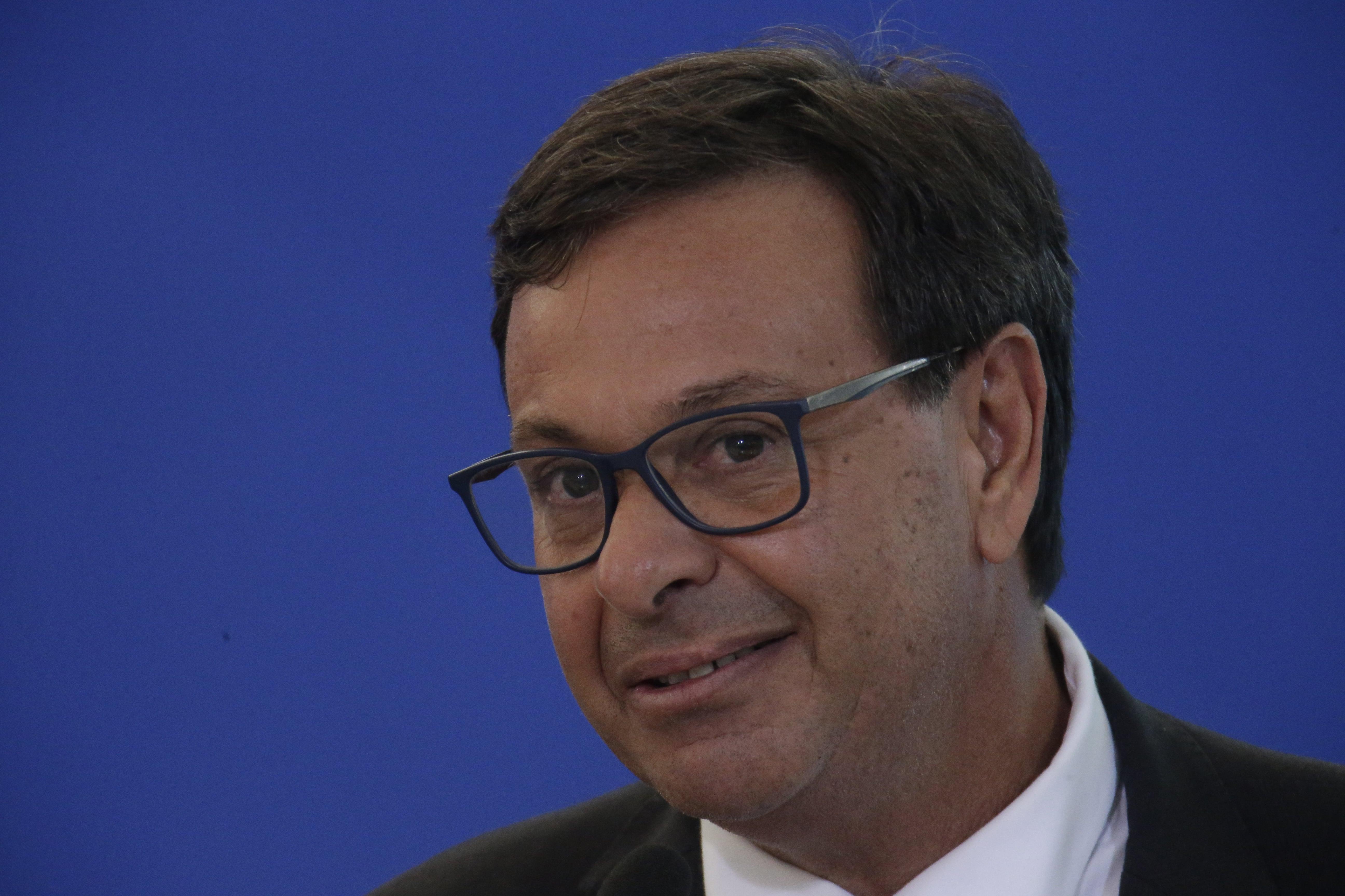 O presidente da Embratur, Gilson Machado