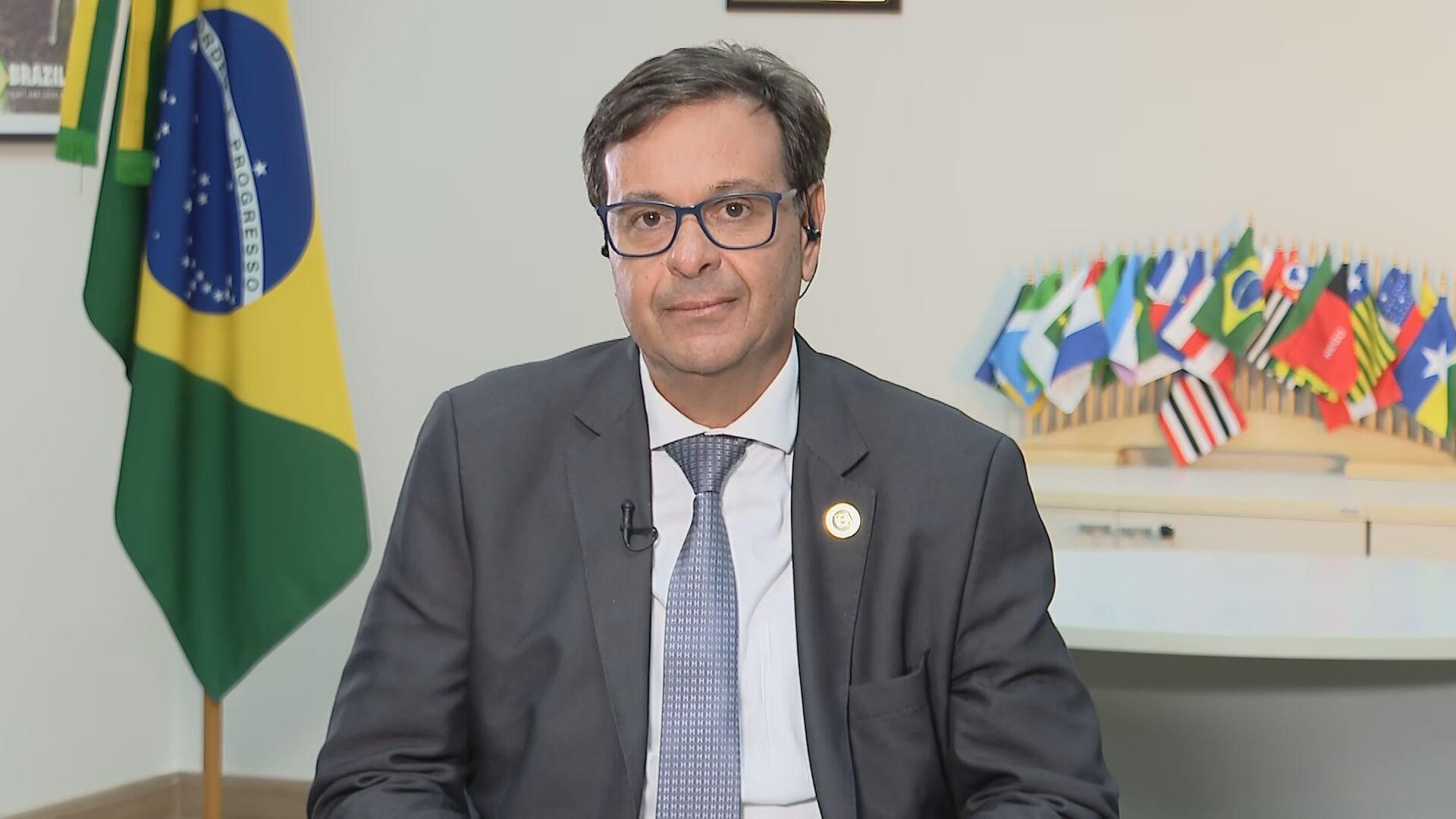 Novo ministro do Turismo, Gilson Machado dá entrevista à CNN