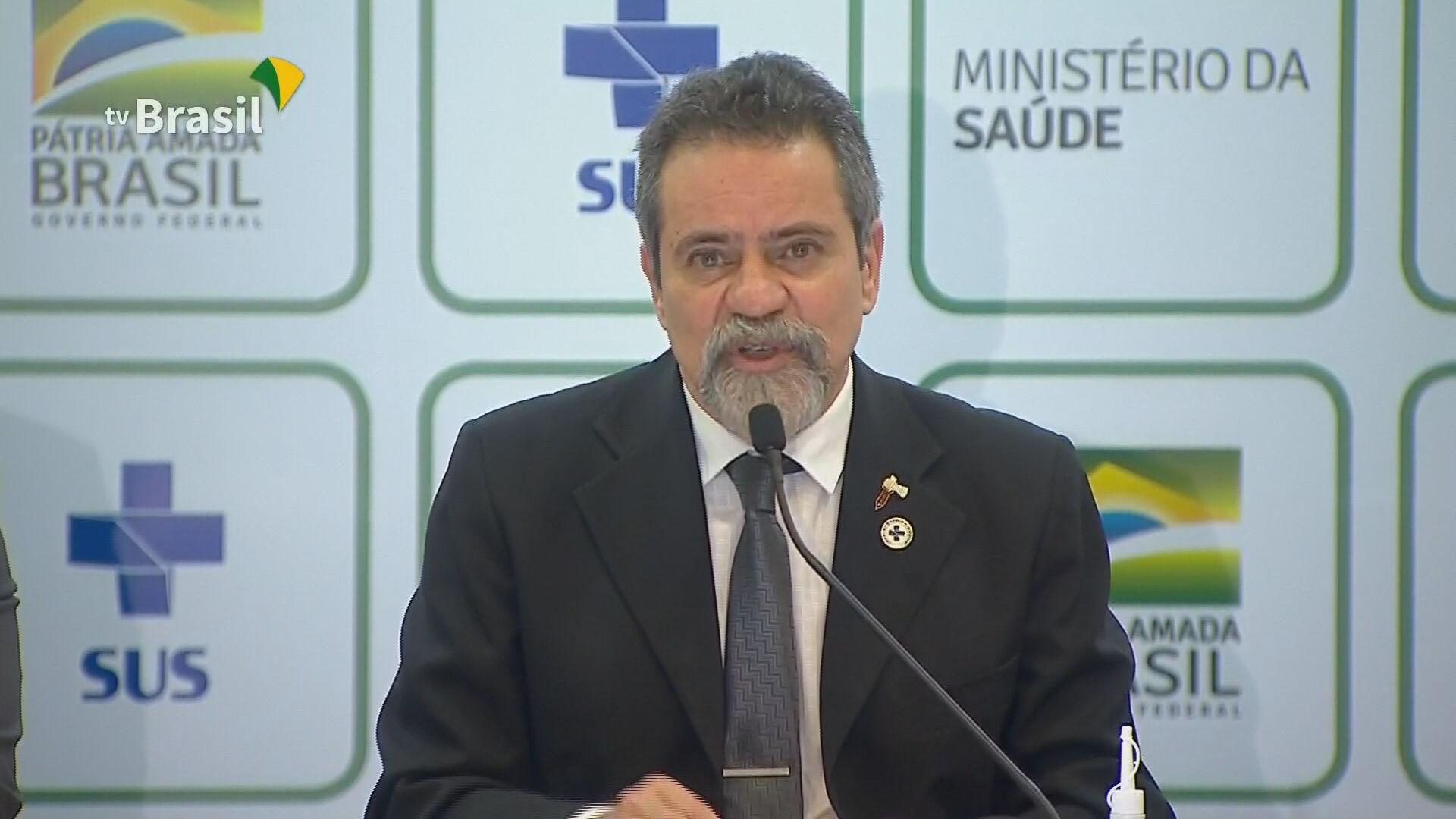Elcio Franco, secretário-executivo do Ministério da Saúde (10.dec.2020)