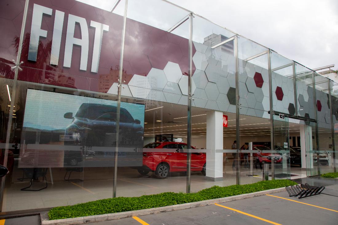 Fiat; Carros; Concessionária