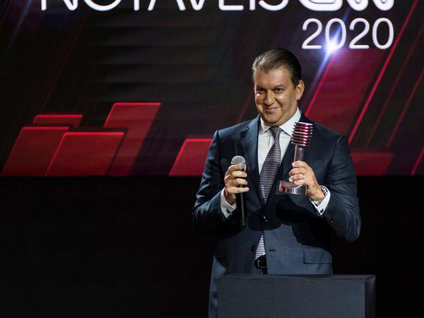 Diretor-geral de Atacado do Itaú Unibanco durante o Prêmio Notáveis CNN