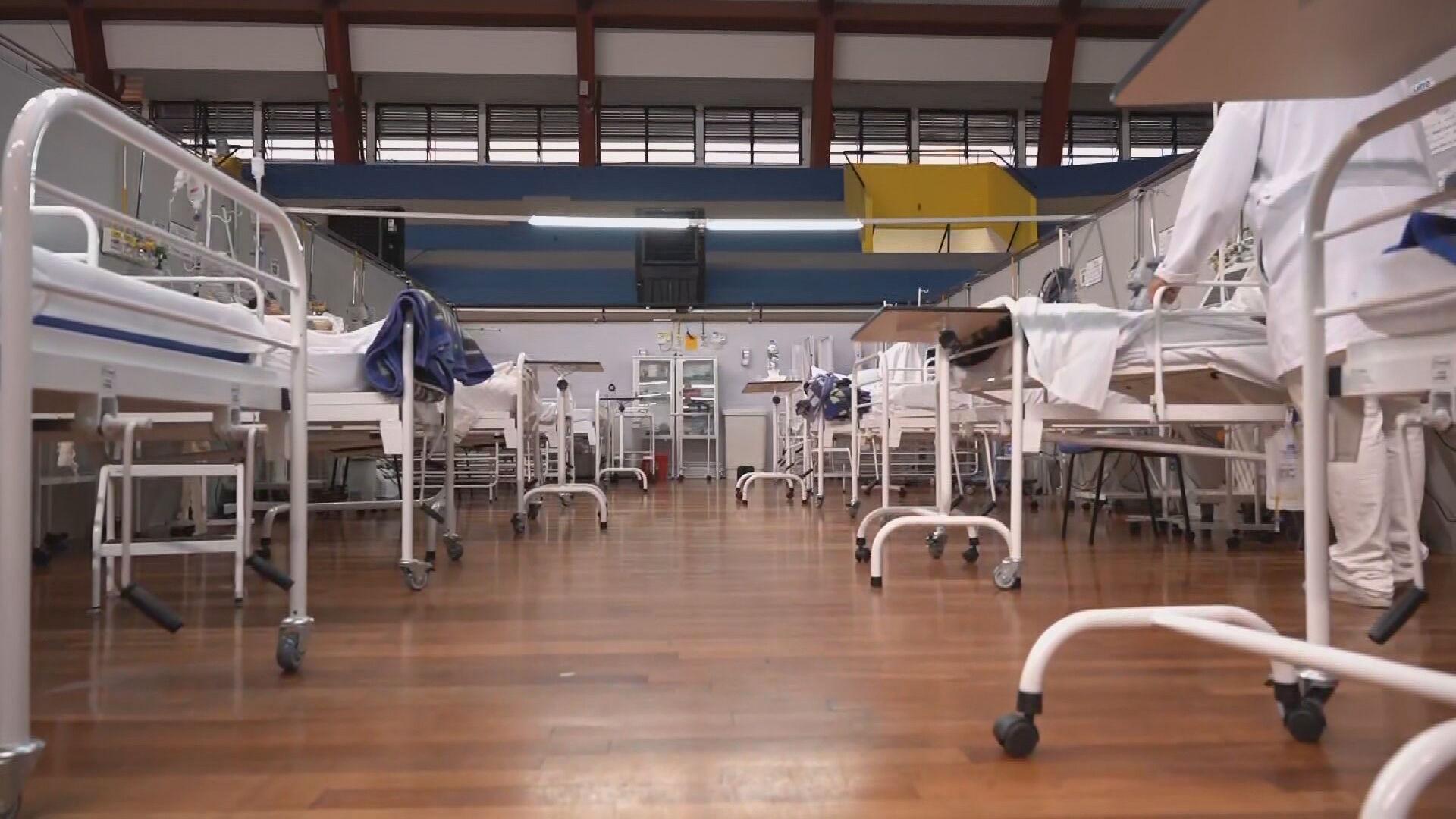 Alta lotação em hospitais acende alerta na região metropolitana de SP