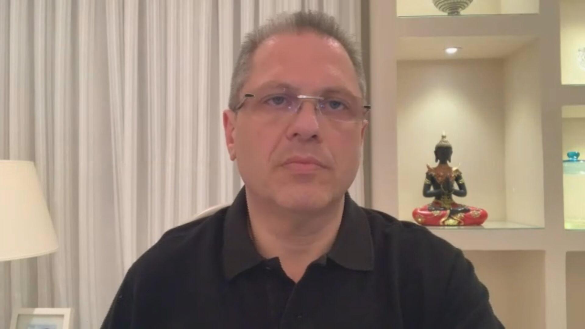 O secretário de saúde de São Paulo, Jean Gorinchteyn (24.dez.2020)